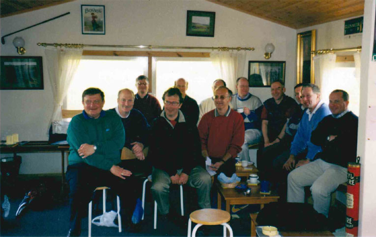 Happy smiling faces. Post golf – Arbory style.