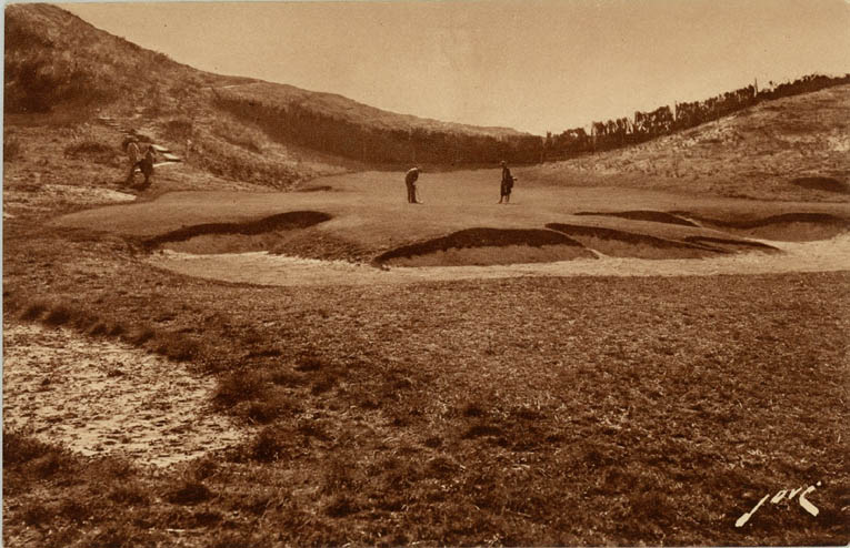 Photo of the short 4th at Chiberta, Courtesy of Jean-Bernard Kazmierczak's collection
