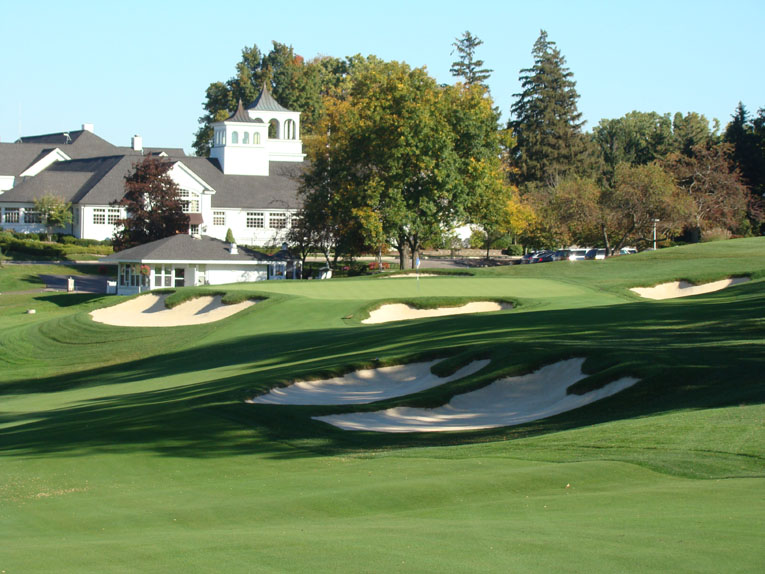 Properly restored a la Orchard Lake, Alison's bunkers are three dimensional works of beauty.