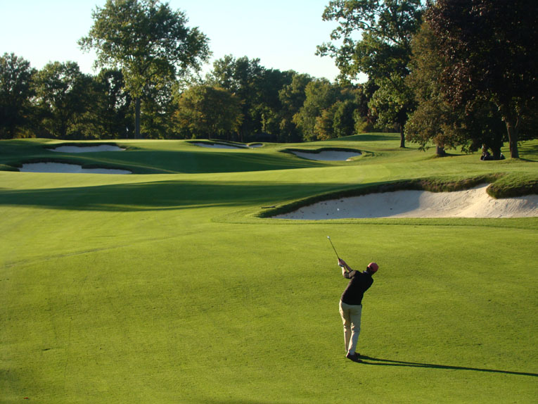 Foster drove a sense of scale being returned to Orchard Lake. Now all can appreciate its rolling landforms and how Alison captured them so well for golf.