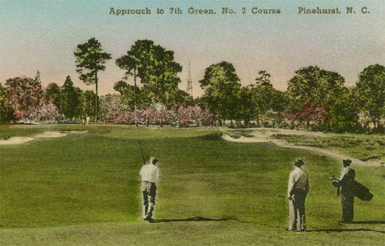 Donald. Ross playing No. 2