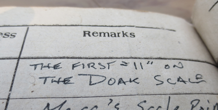 High praise from Tom in the course's guestbook after his 2012 visit.