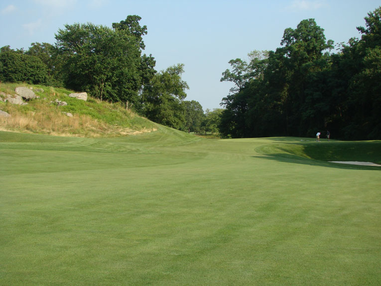 Whippoorwill occupies a huge swath of land and as such there is always much to be done. In recent times a rock-strewn hill to the left of the green has been exposed by Gonzalez and his crew to reinforce the course's natural rugged character.