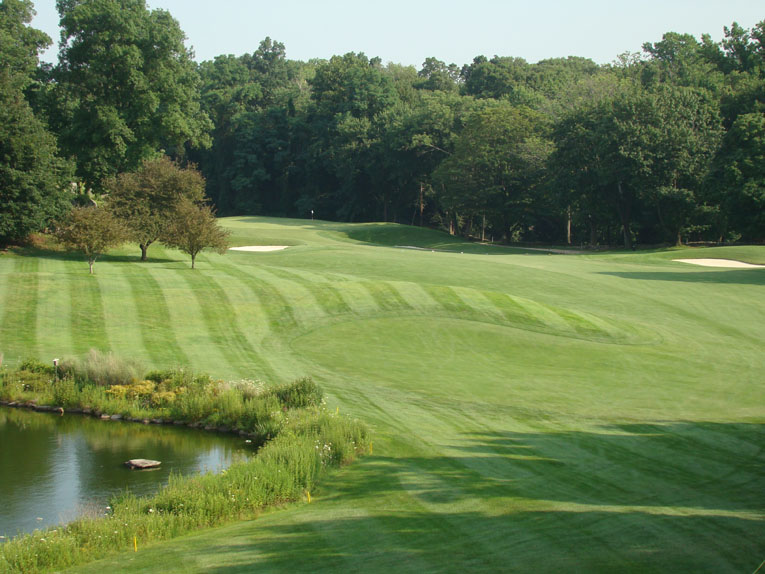 Banks' superb placement of teeing grounds on natural high spots must surely have stemmed from his time with Seth Raynor, one of, if not the greatest, all time router of golf holes.