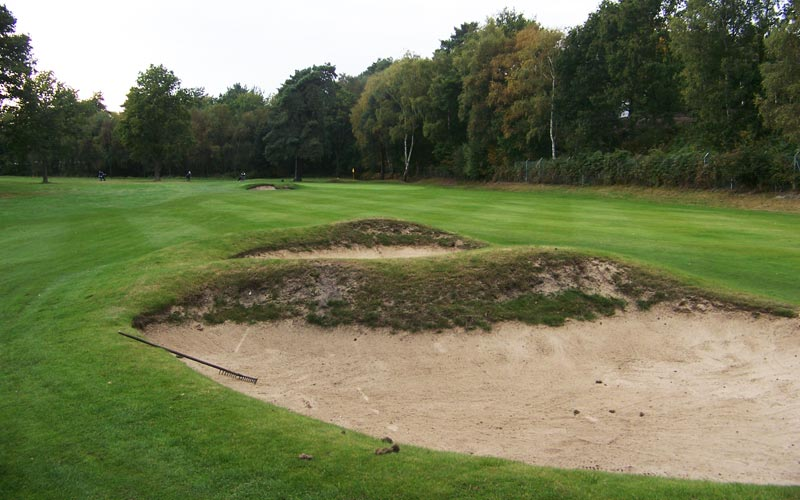 The brilliance of Paton's bunkers is that they are where the golfer wants to hit his tee ball.
