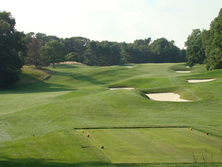 A perfect golf hole, coupling great beauty and strategy.