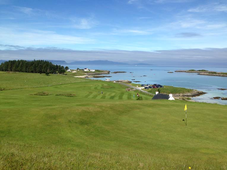 Fun golf comes in all sorts of shapes and sizes, including the nine hole Traigh in the Northwest Highlands of Scotland.