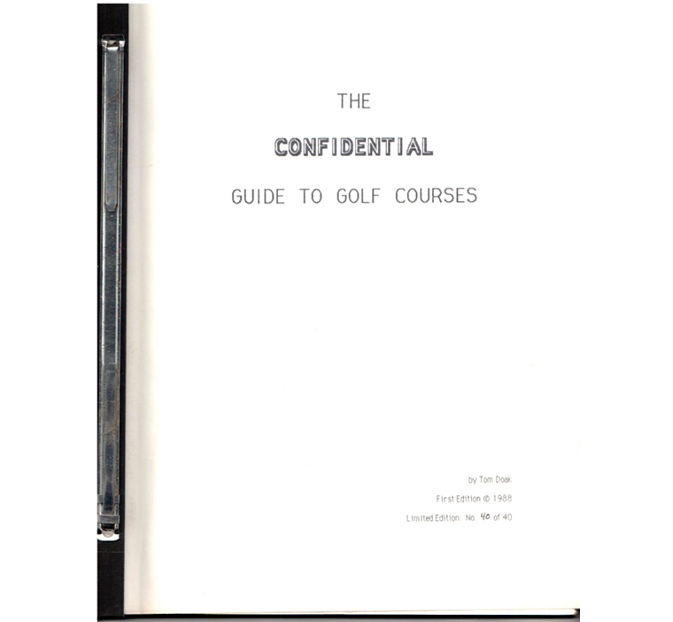 The initial, loose leaf Confidential Guide is now over 25 years old.