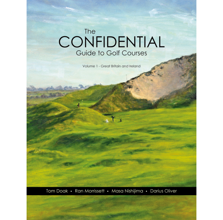The soon to be released Confidential Guide on golf in the United Kingdom.